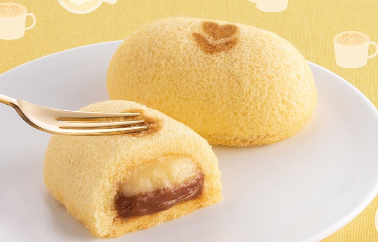 冬季限定『「銀座のキャラメルラテケーキ」です。」東京ばな奈ワールドから