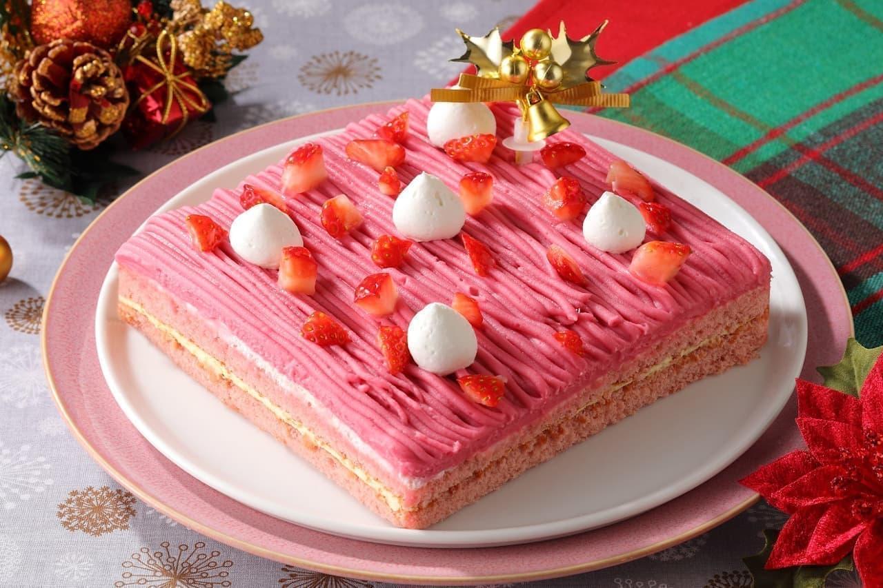 スイパラ、いちごがテーマの「ストロベリークリスマス」