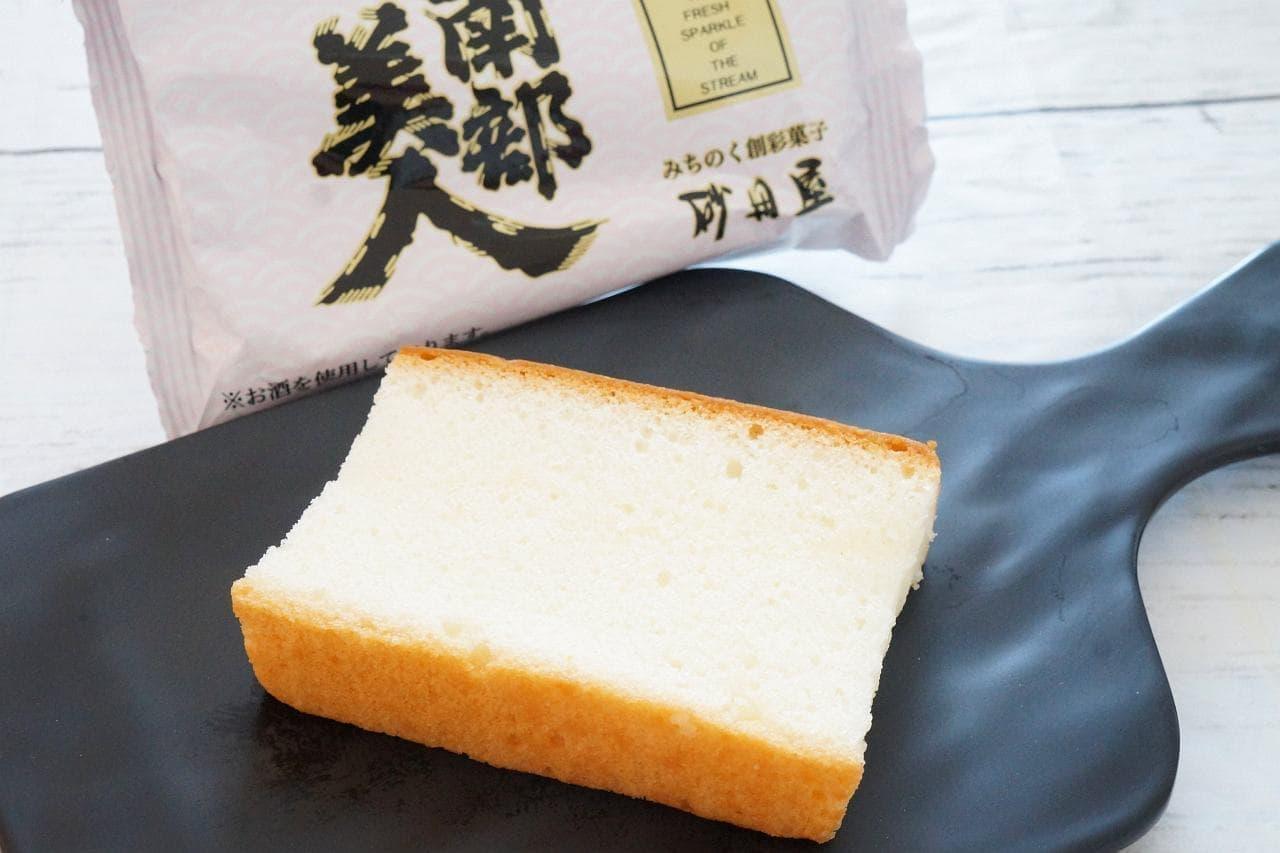 砂田屋「6酒蔵の酒ケーキ」