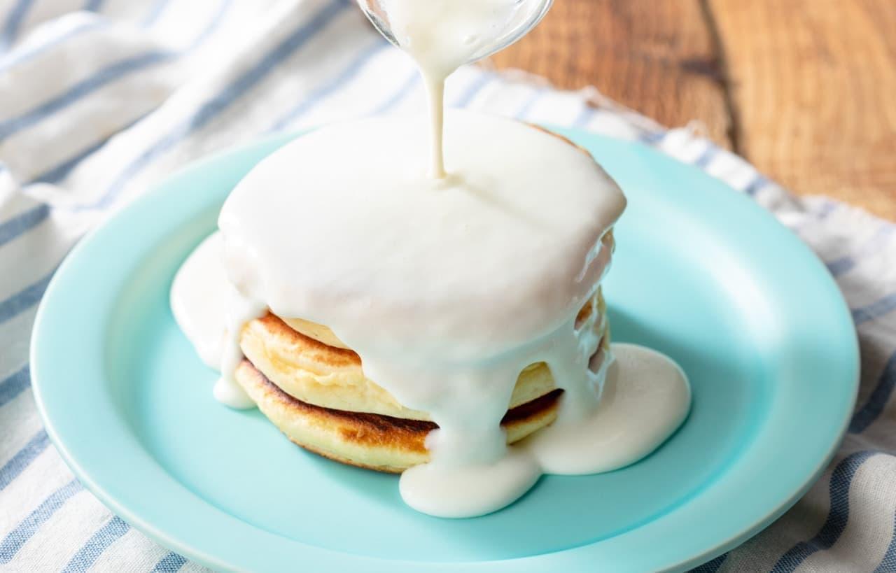 「究極の生クリームのミルクパンケーキ」生クリーム専門店ミルクカフェ原宿店に
