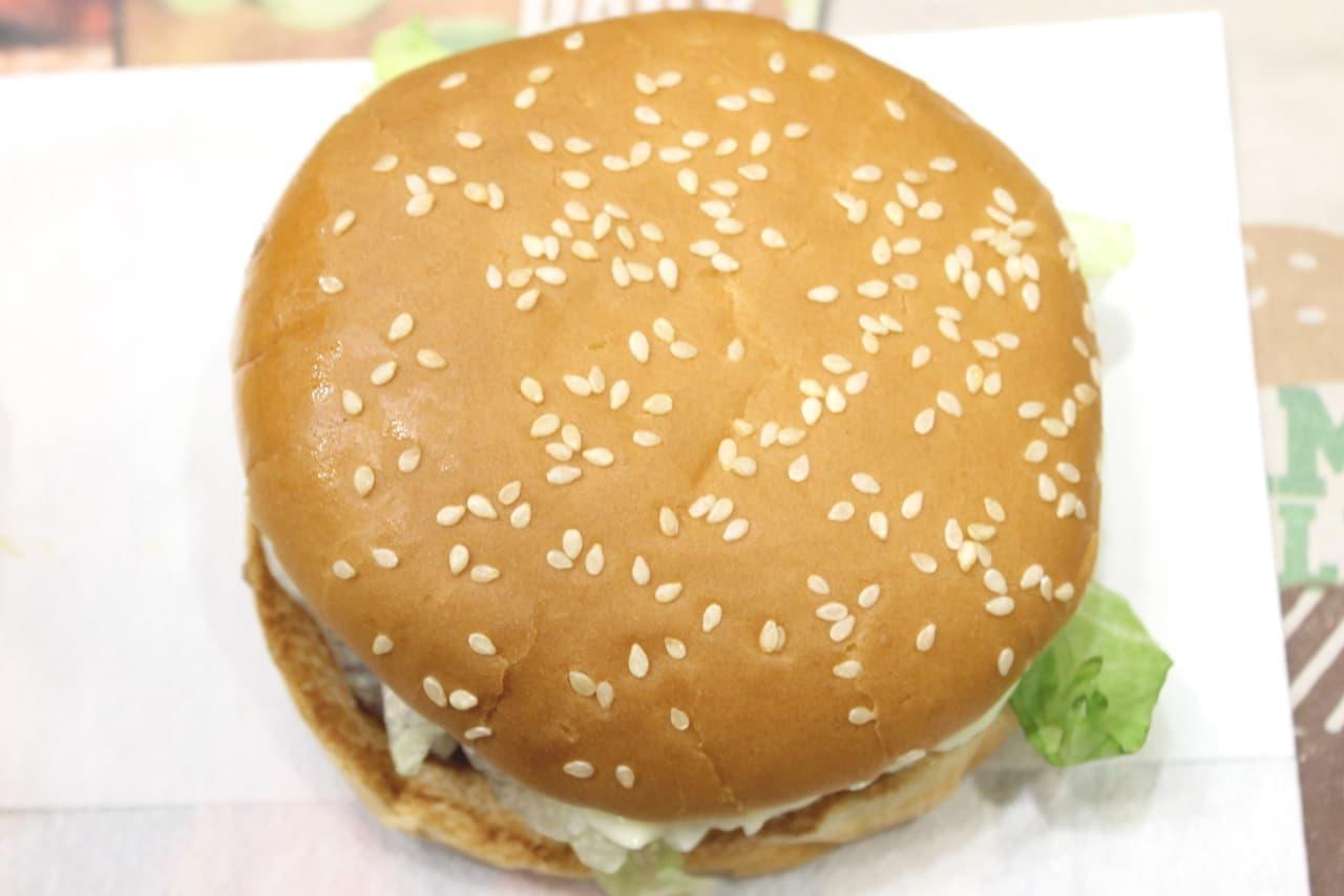 バーガーキングの新商品「テリヤキダブルビーフバーガー」