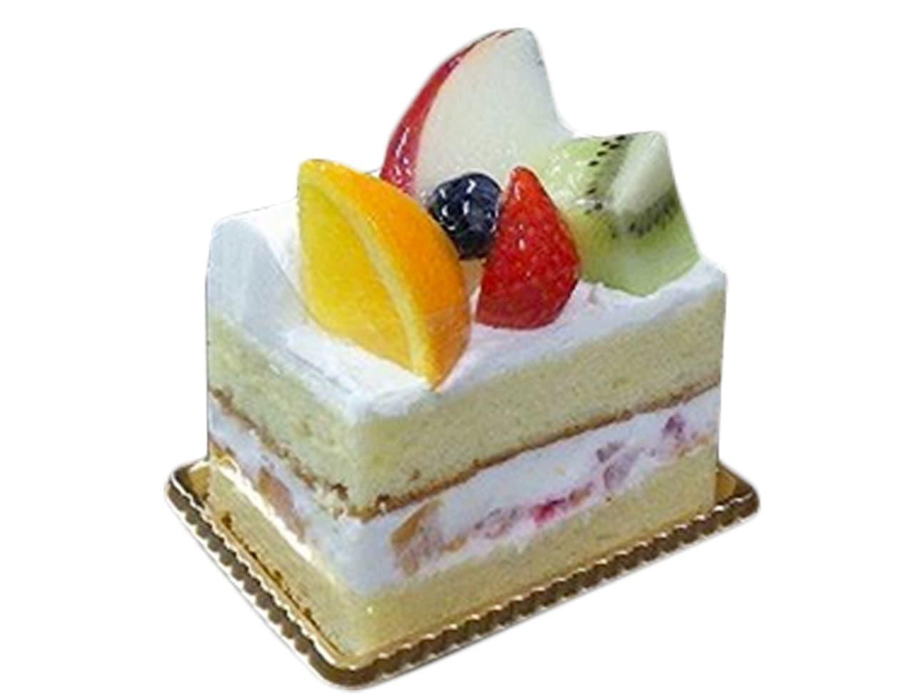 シャトレーゼ「フルーツぎっしりショートケーキ」