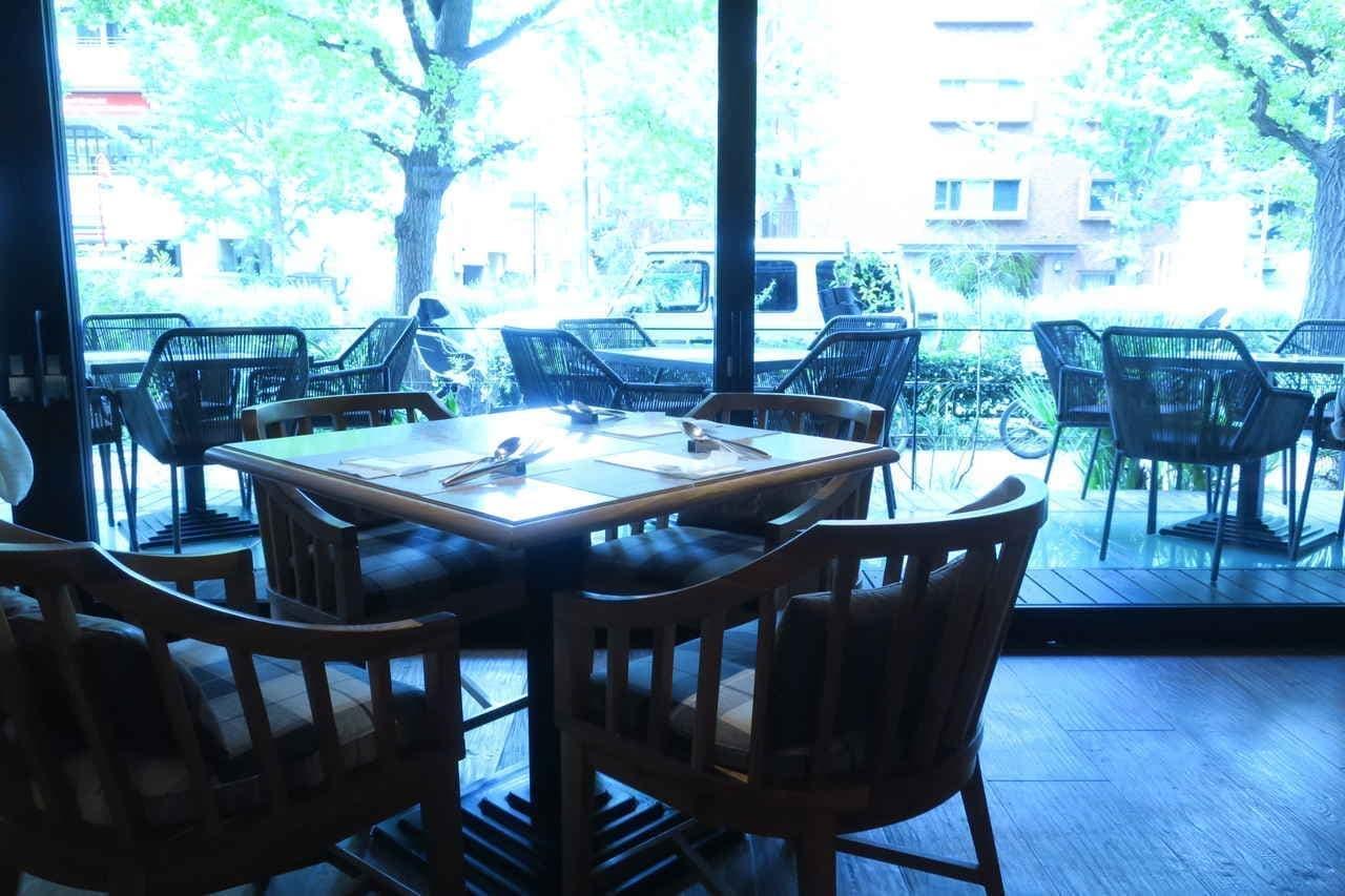 白金台テンダーハウス朝食