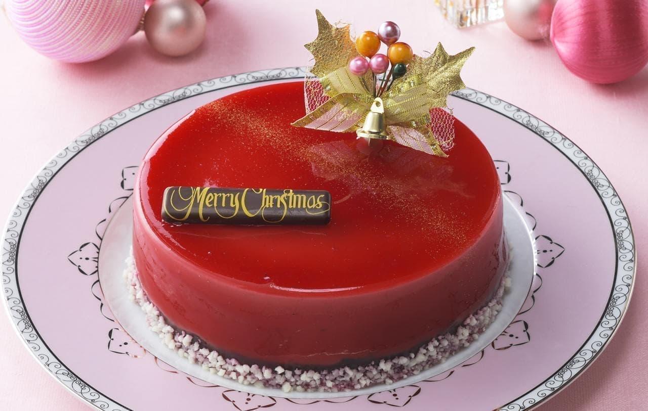 銀座コージーコーナー「クリスマスグラサージュルージュ」