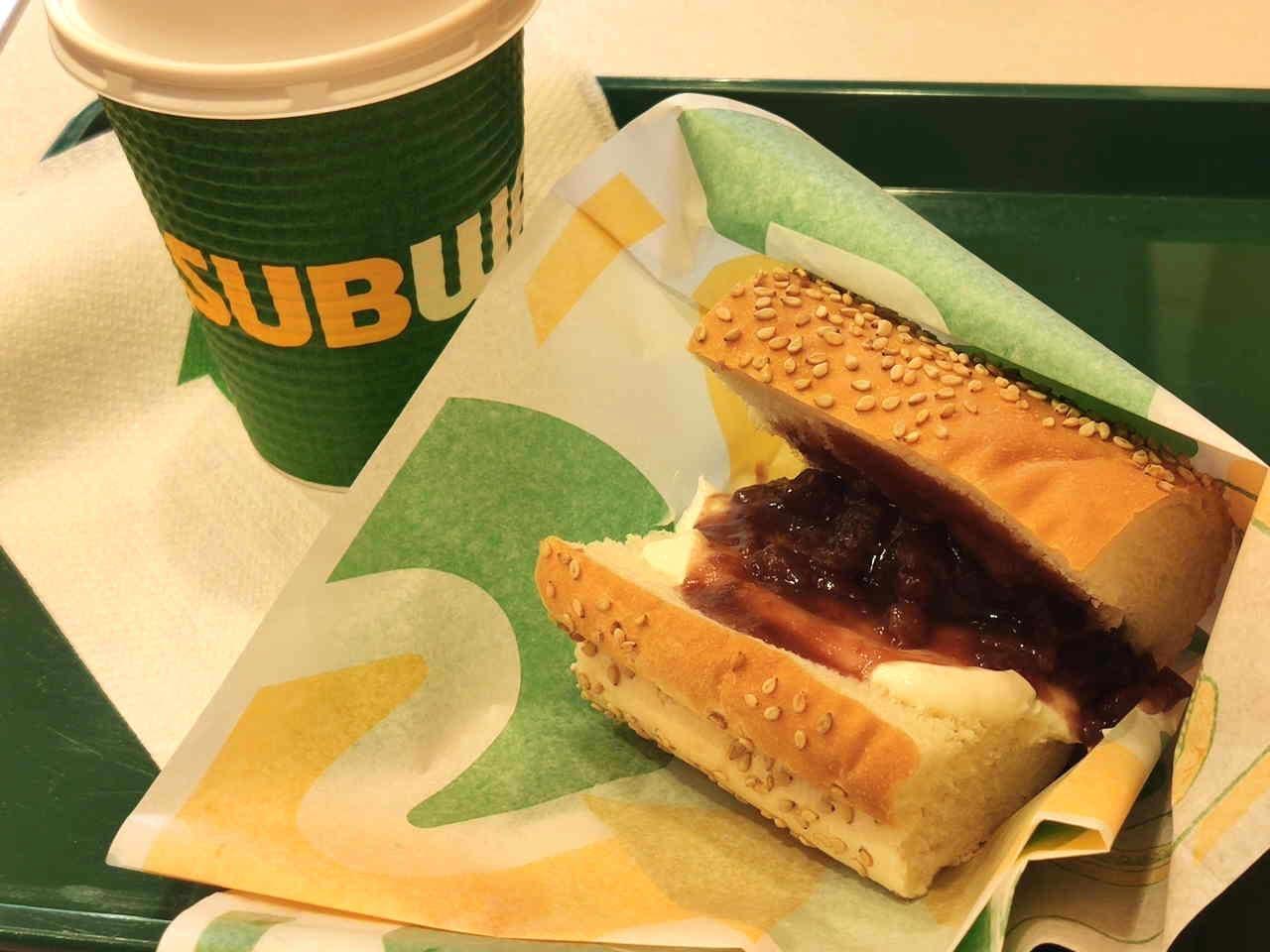 サブウェイ 甘いサンドイッチ