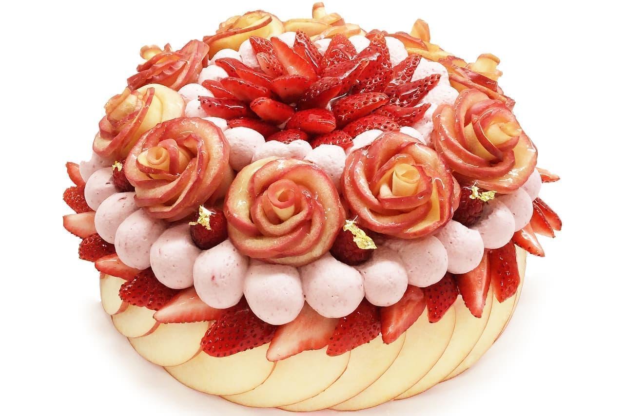 「いい夫婦の日」にちなんだ夫婦ショートケーキ