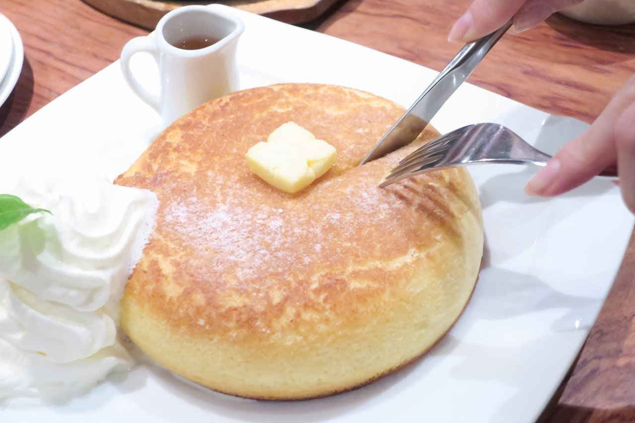 茶房タムタム ホットケーキ