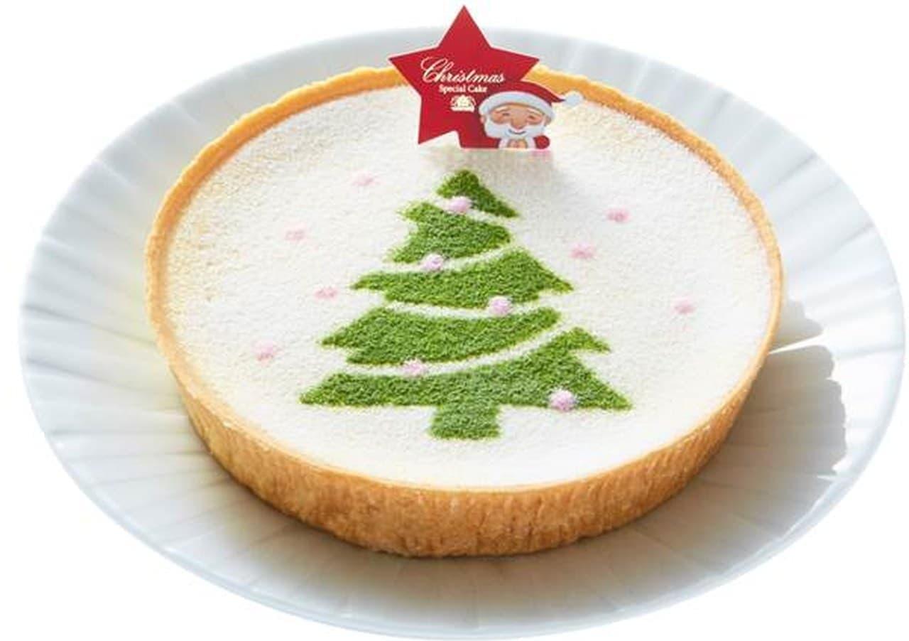 モロゾフ「クリスマス マスカルポーネチーズケーキ」