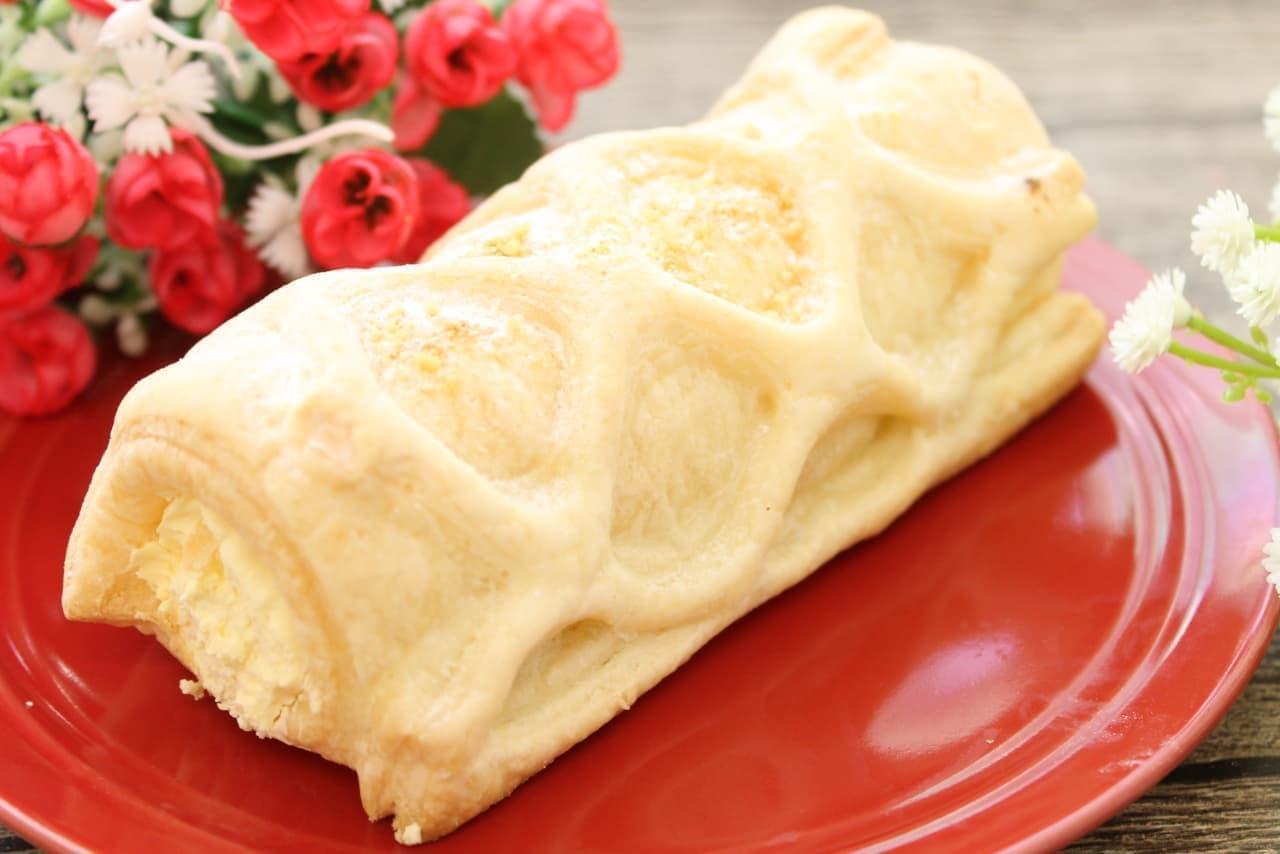 ファミマ限定「冷やして食べるコロネパイ(チーズクリーム)」