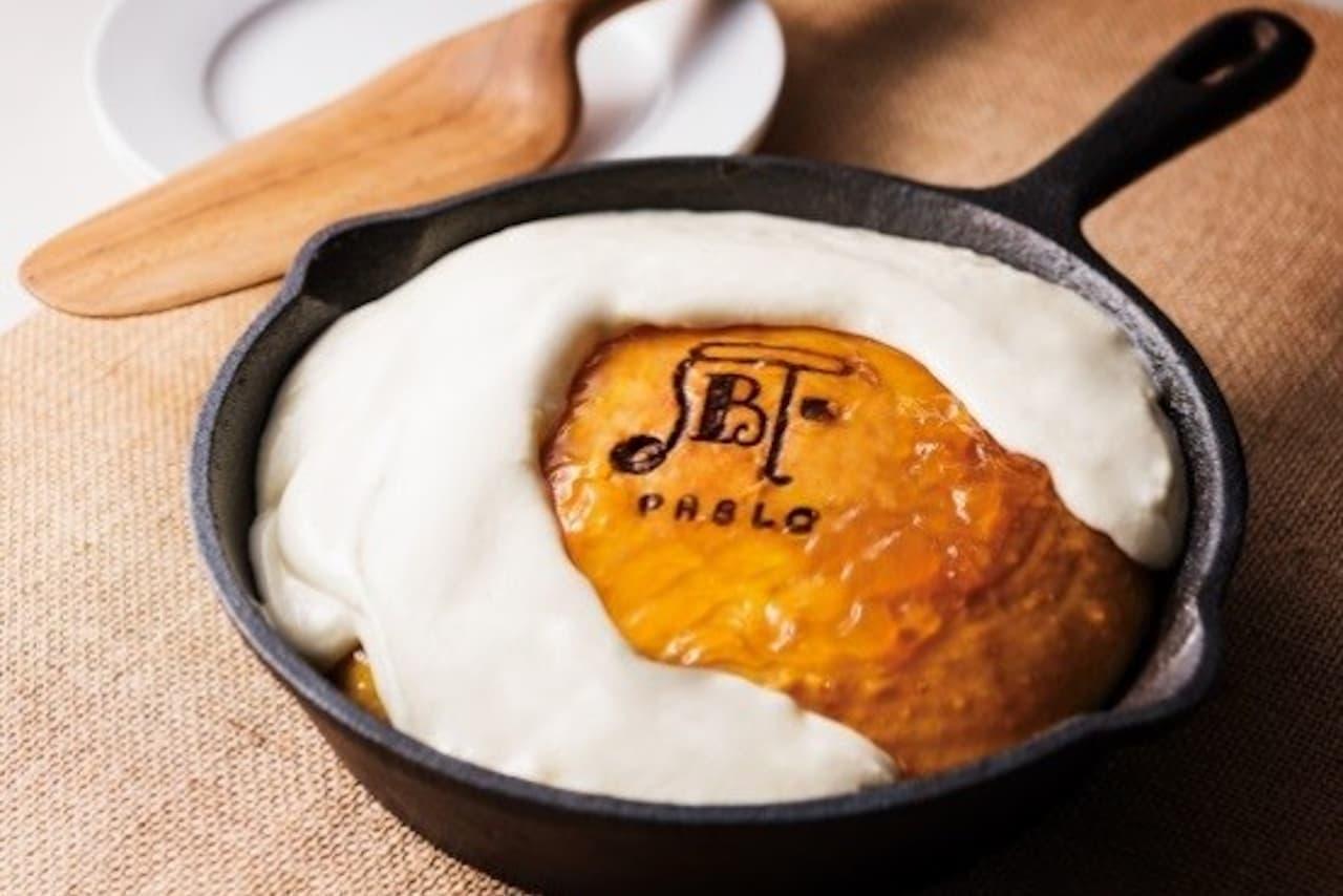 チーズタルト「パブロ」とコラボのパンケーキ