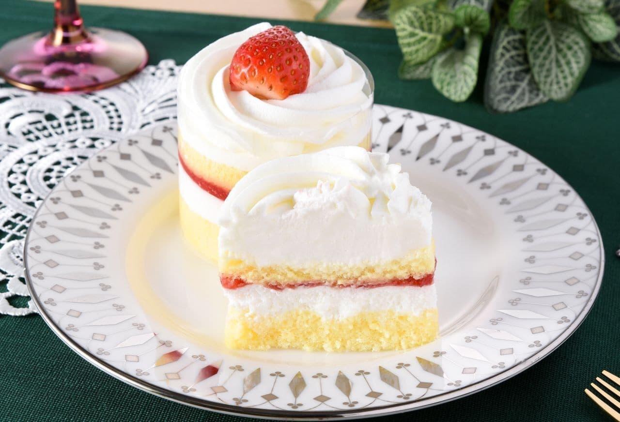 ファミリーマート クリスマス限定ケーキ「苺のショートケーキ」