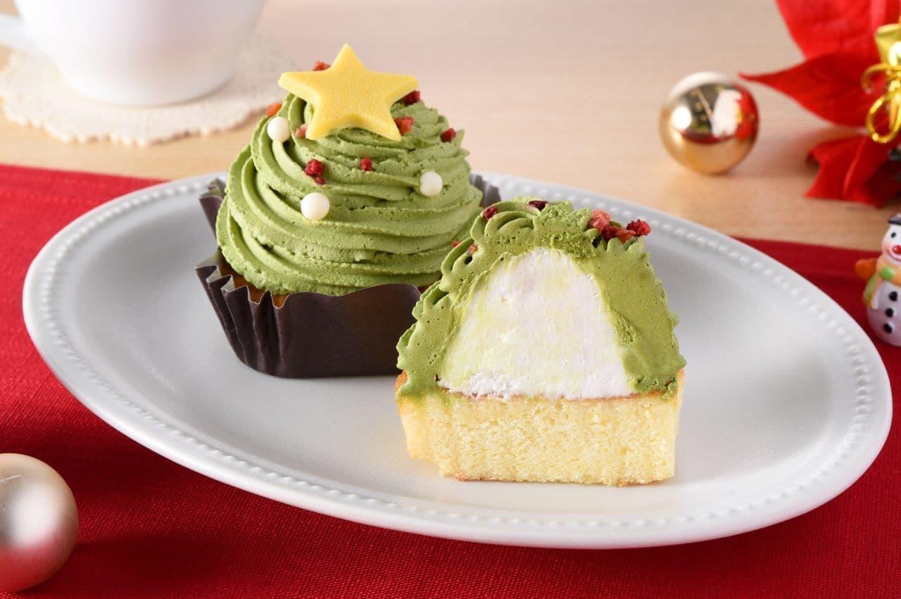 ファミリーマート クリスマス限定ケーキ「抹茶のモンブラン」