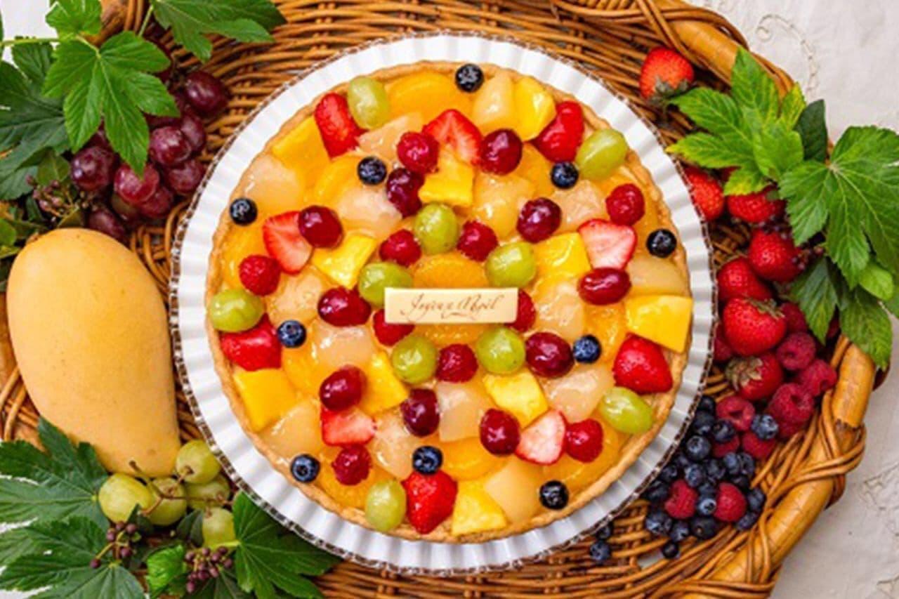 キル フェ ボン「8種のフルーツのタルト」