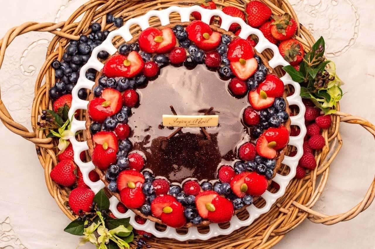 キル フェ ボン「甘酸っぱいベリーとチョコレートクリームのタルト」