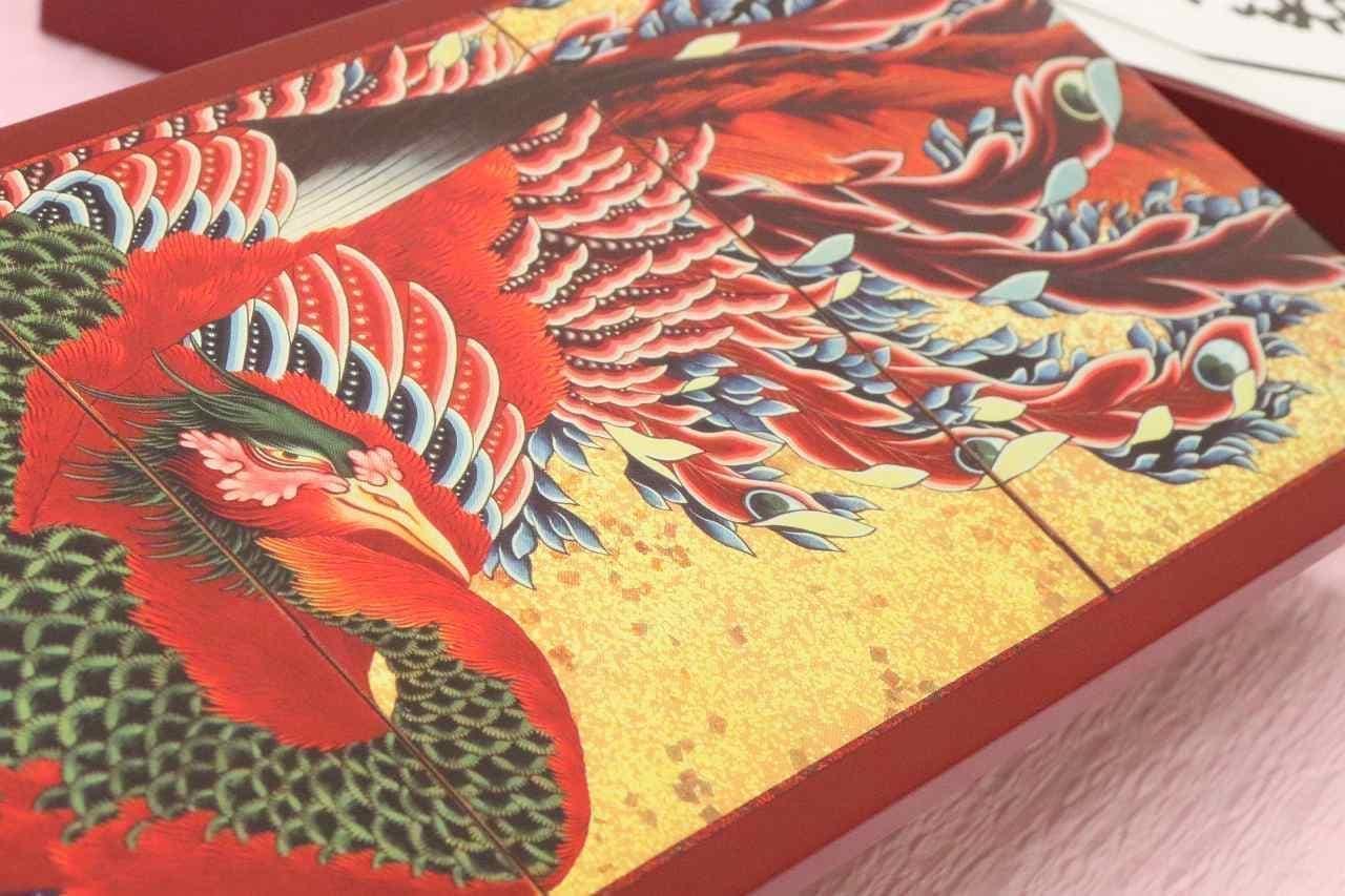 イトーヨーカドーのお歳暮アートコレクション「鳳凰図屏風(部分)」