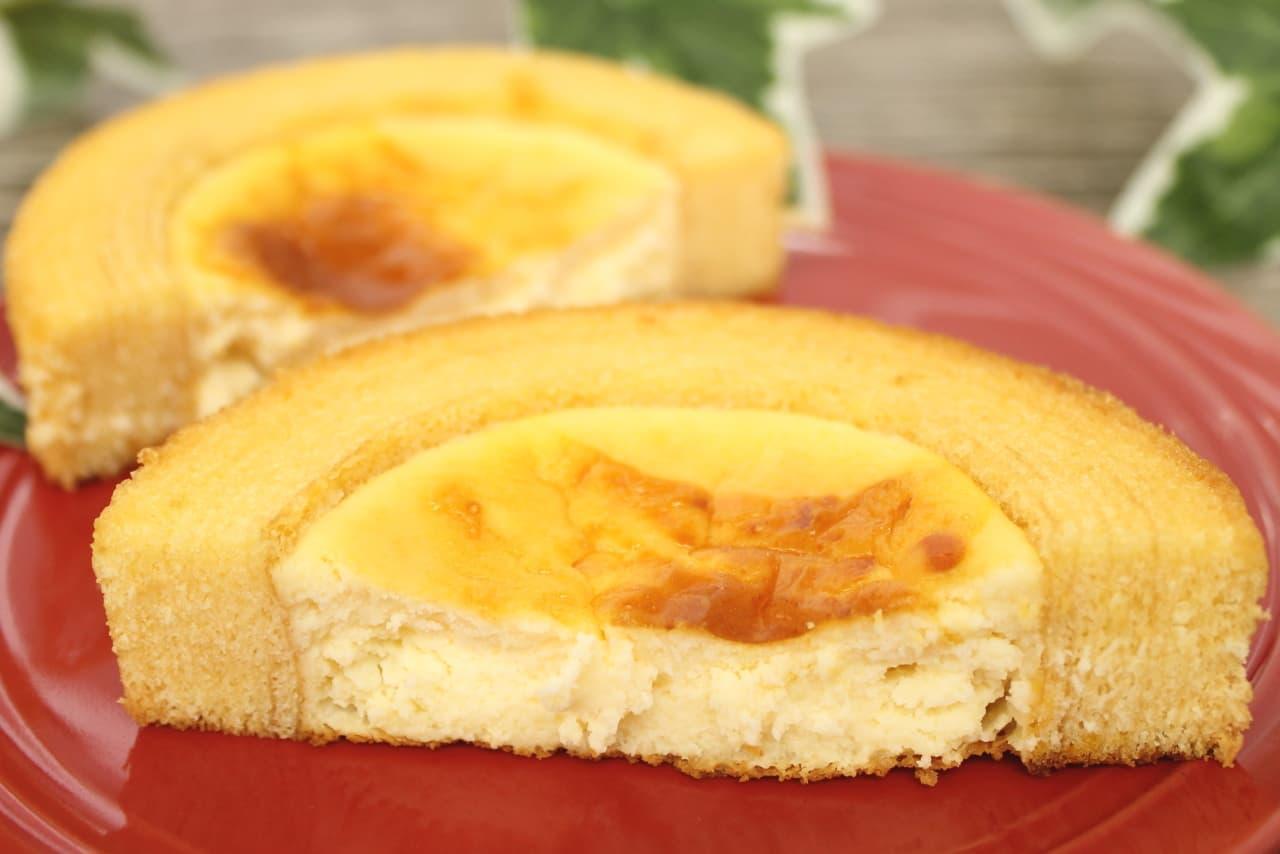 ファミマ限定「ベイクドチーズケーキのバウム」