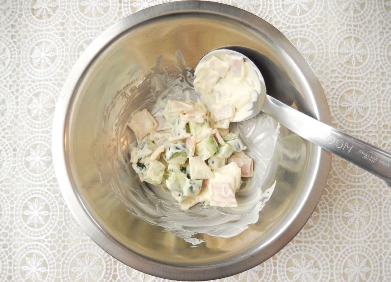 ずぼらのレシピ 丸ごとポテトサラダ