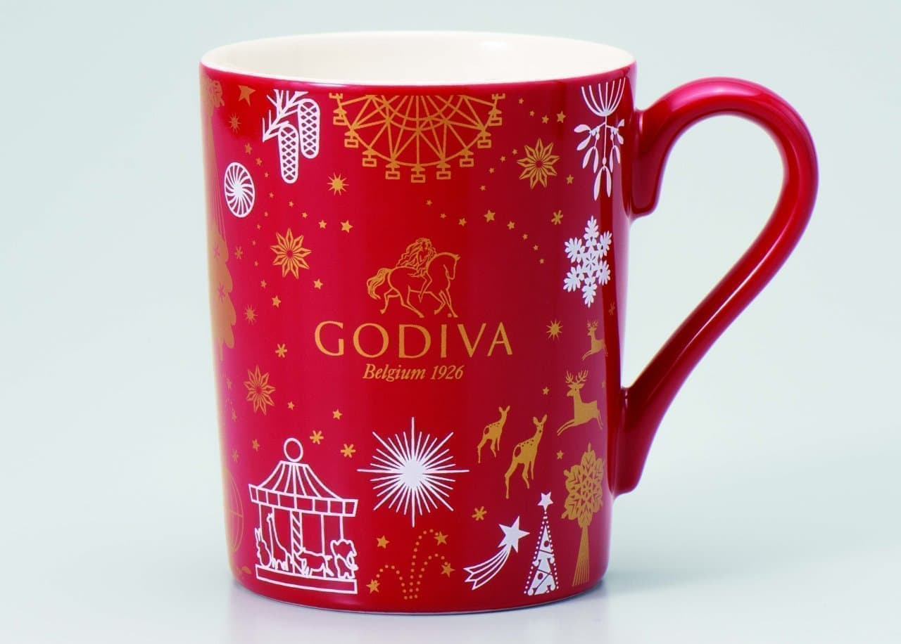 ゴディバクリスマスコレクション「オリジナル マグカップ」