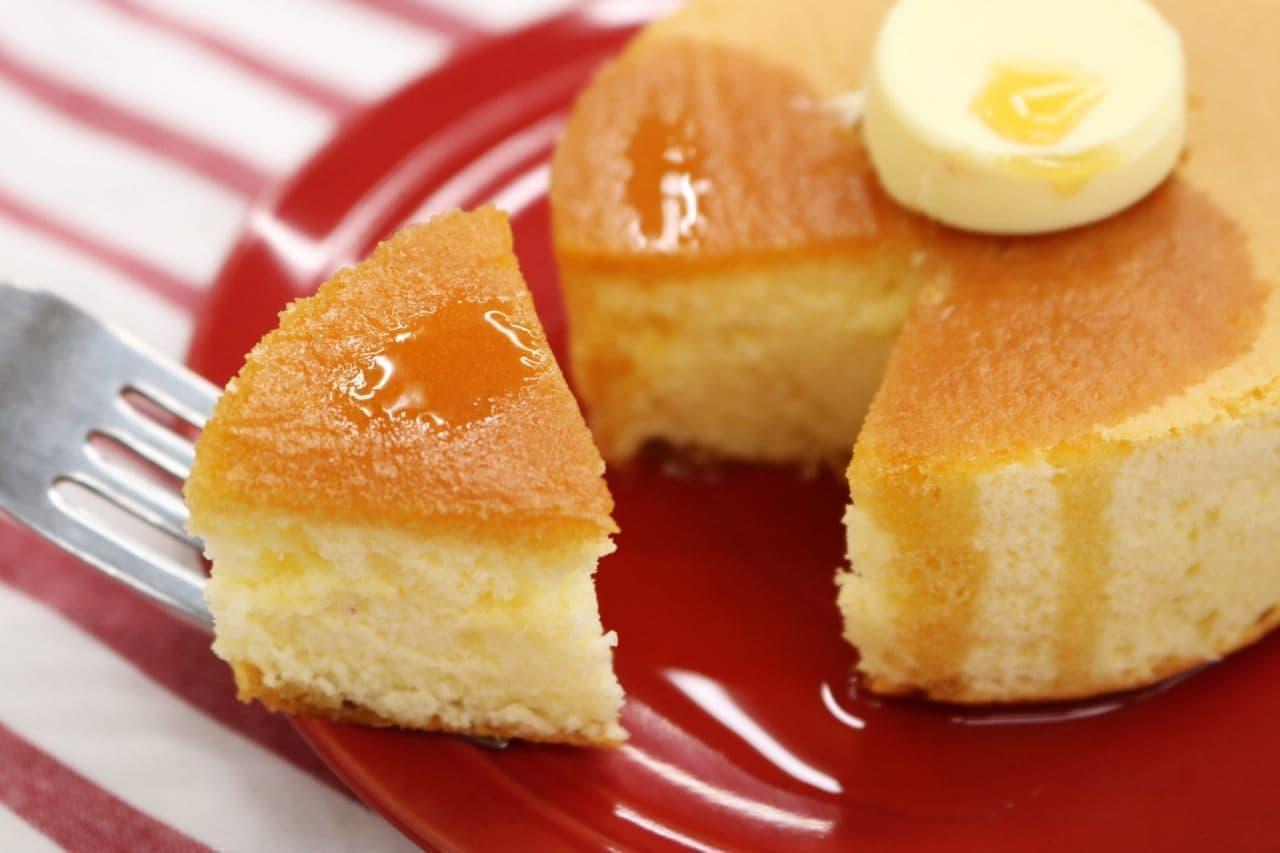 ローソン「厚焼きスフレパンケーキ」