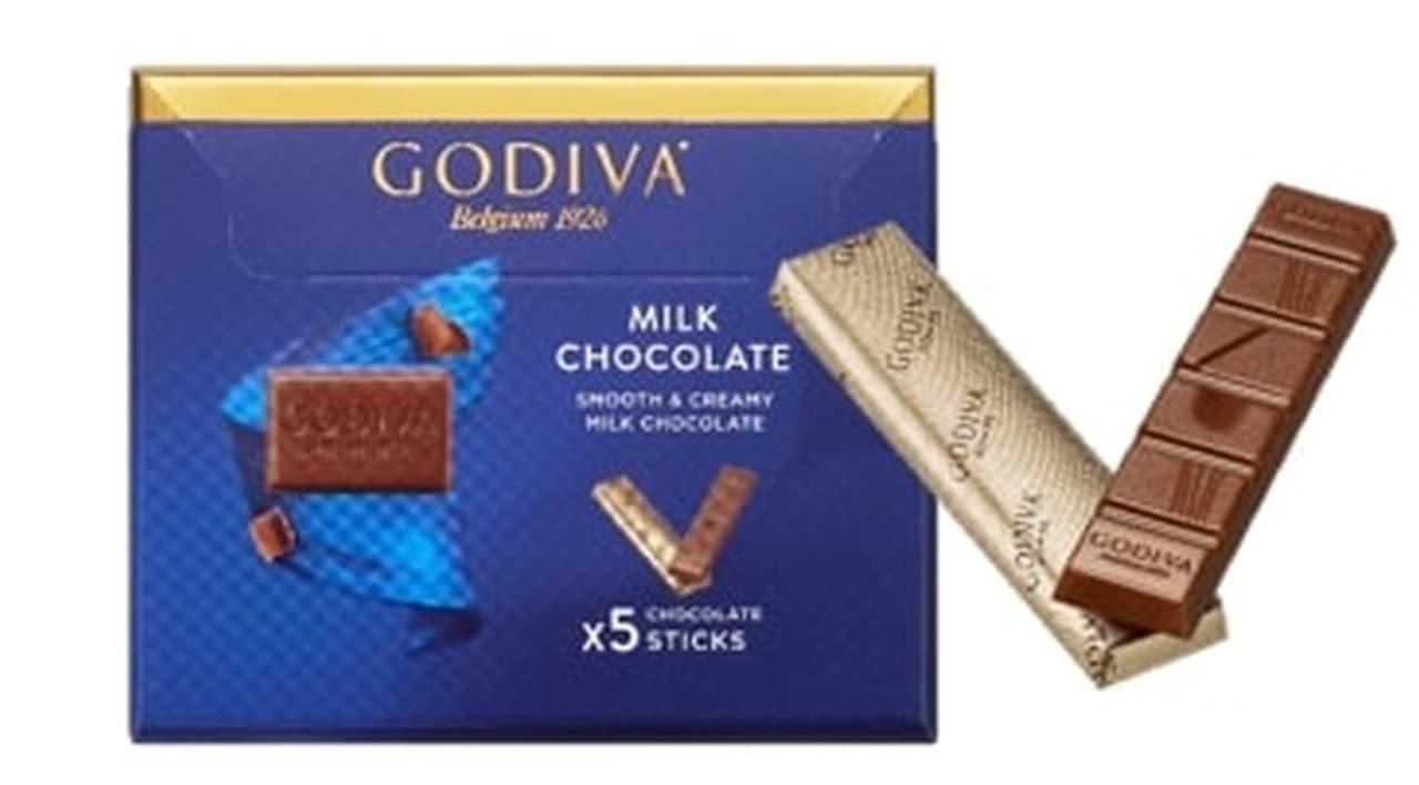 コンビニ「ゴディバ ミルクチョコレート」