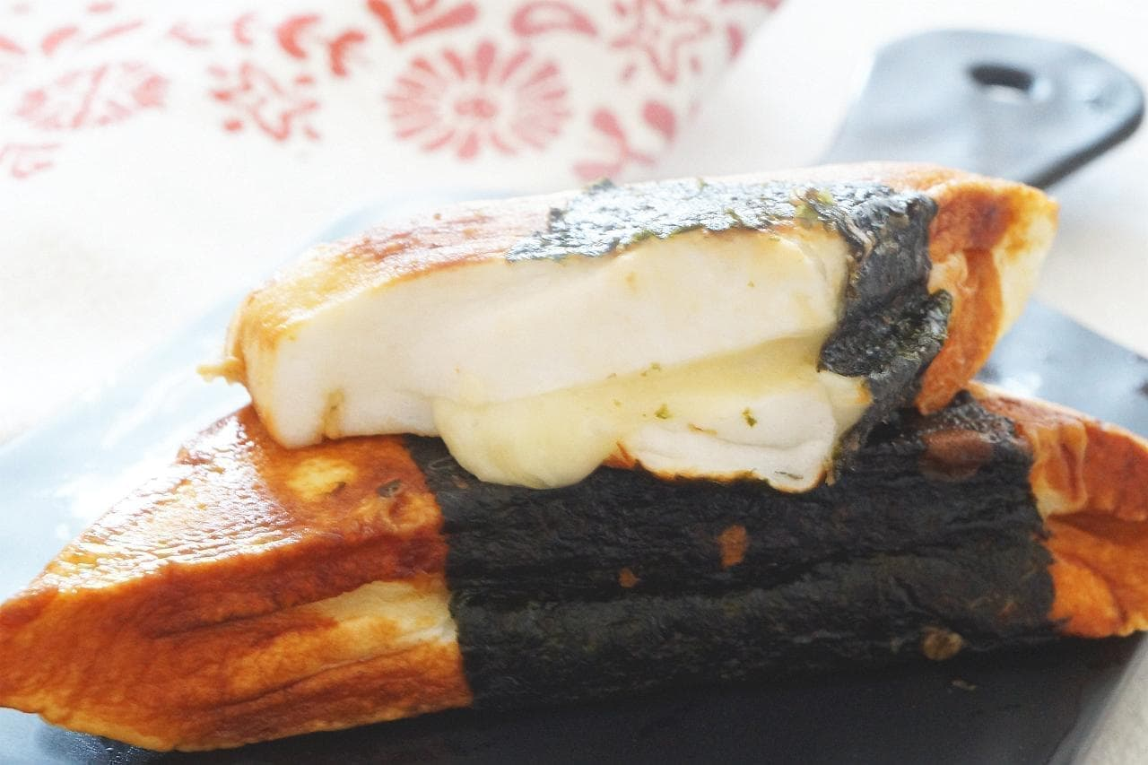はんぺんのチーズ磯辺焼き