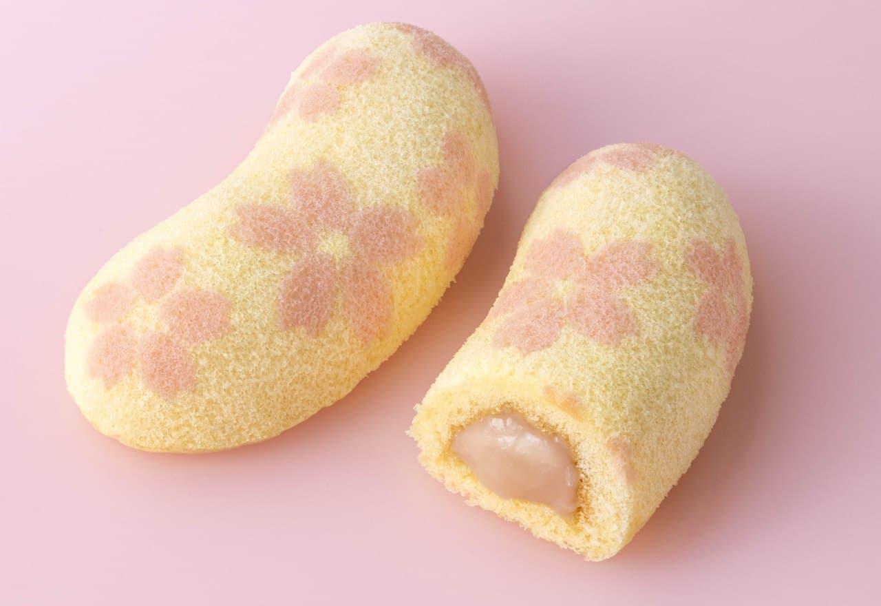 季節限定『サクラ咲ク 東京ばな奈「見ぃつけたっ」 桜香るバナナ味』