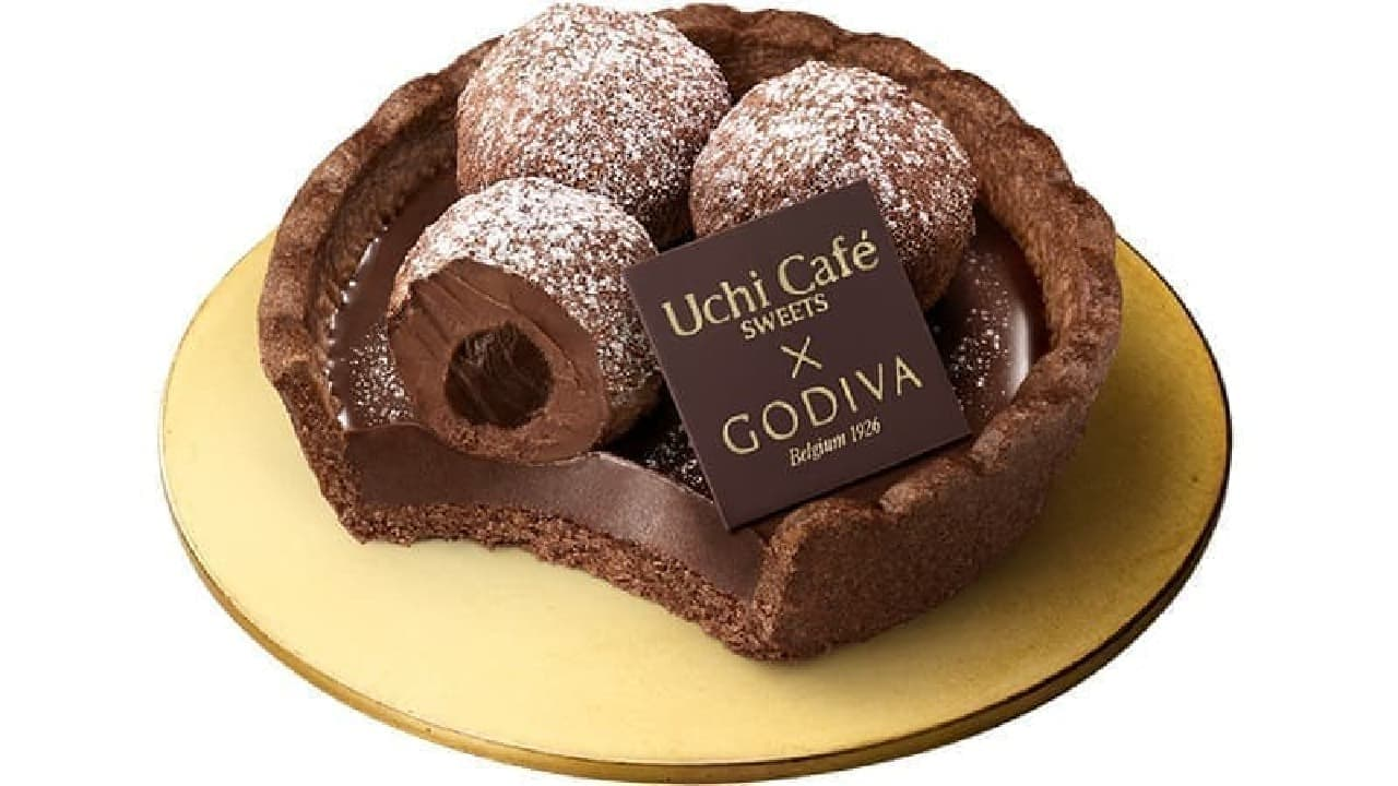 Uchi Cafe × GODIVA タルトトリュフ オ ショコラ