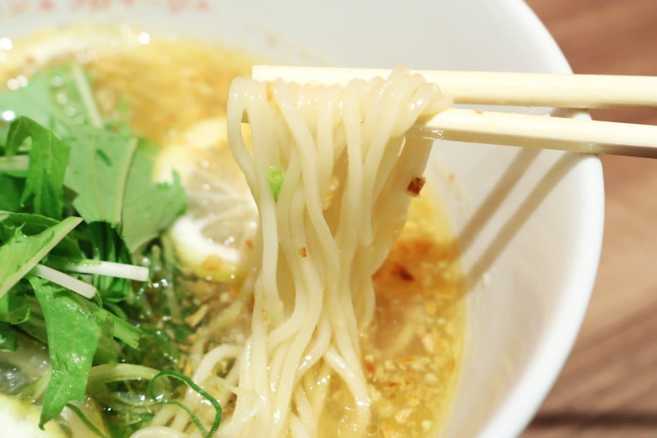 マロチカのらぁ麺 レモン&フロマージュ GINZA「レモンらぁ麺」
