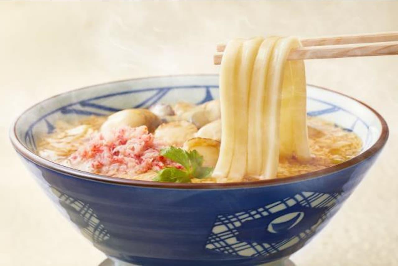 丸亀製麺に季節限定「海鮮玉子あんかけ」