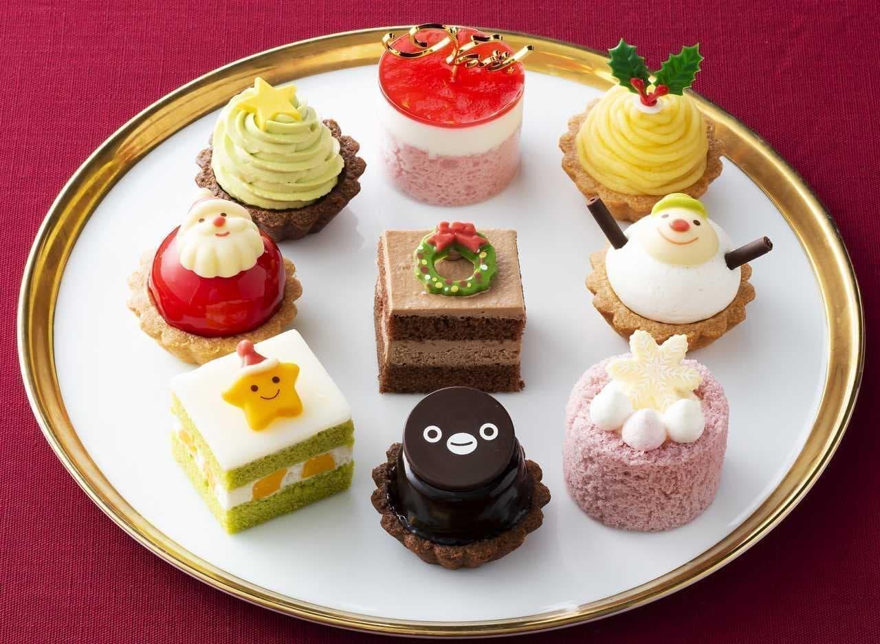 銀座コージーコーナー「Suicaのペンギン クリスマスパーティー(9個入)」