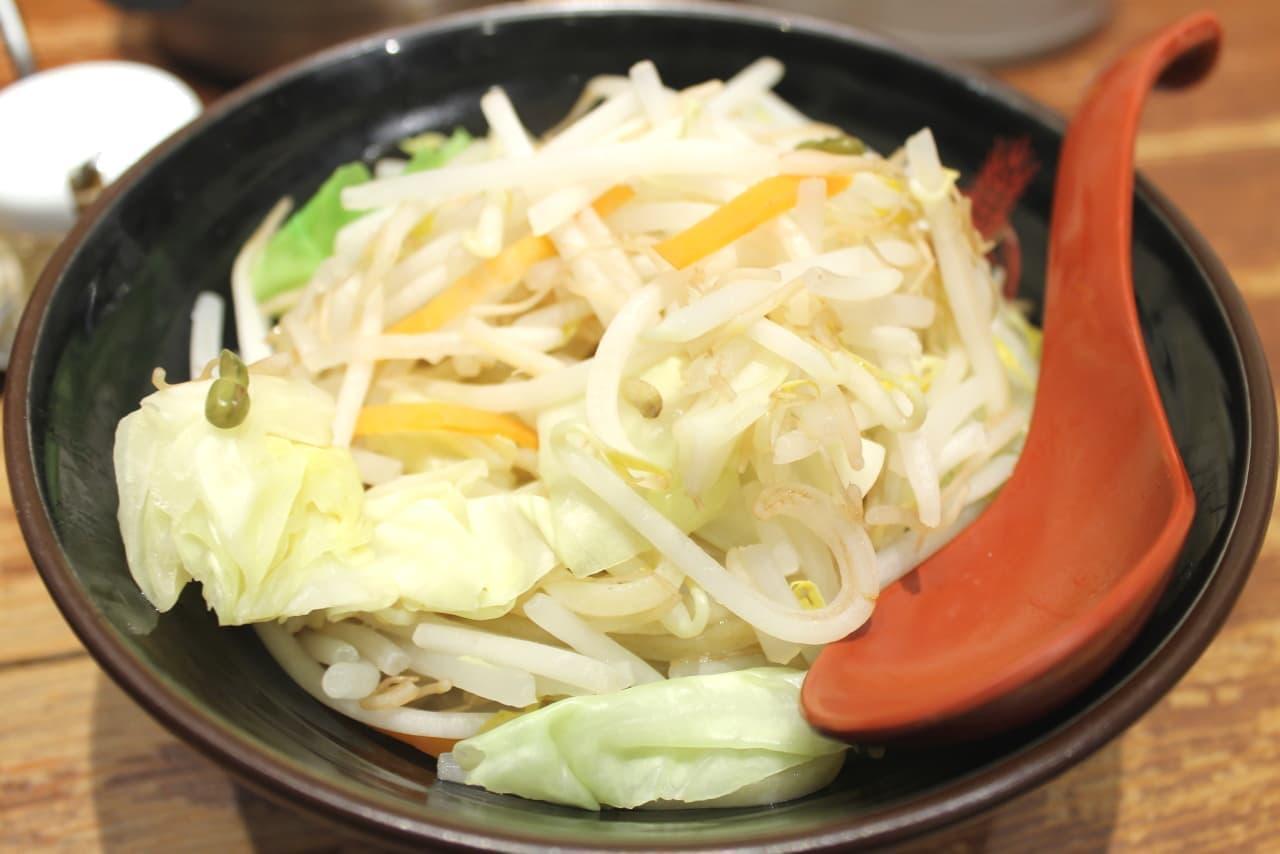 三田製麺所「濃厚魚介味噌つけ麺」