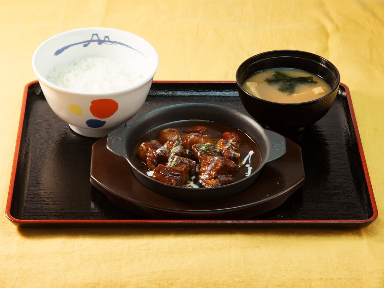 松屋「ビーフシチュー定食」
