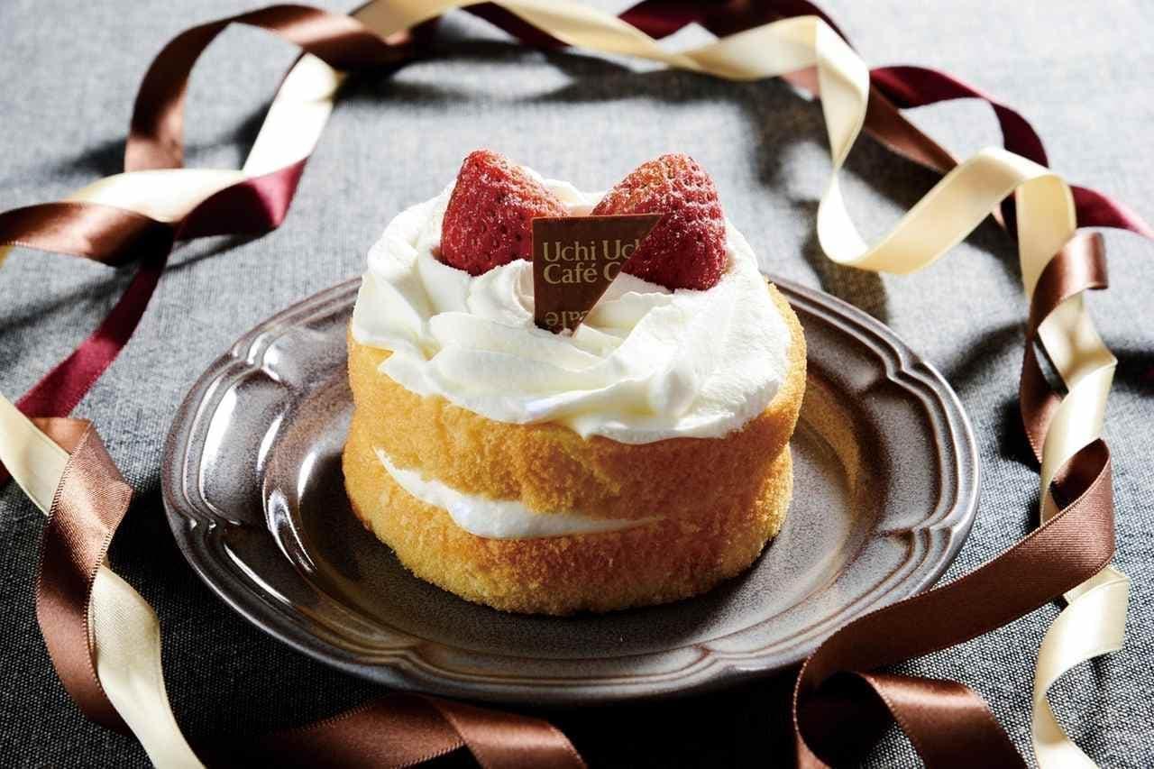 ローソンの「苺のミニホールケーキ」