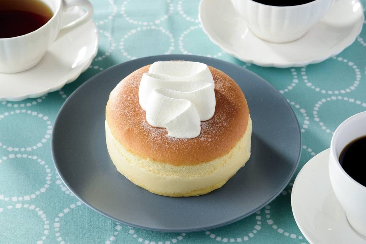 ローソンの「ふわふわスフレチーズケーキ」
