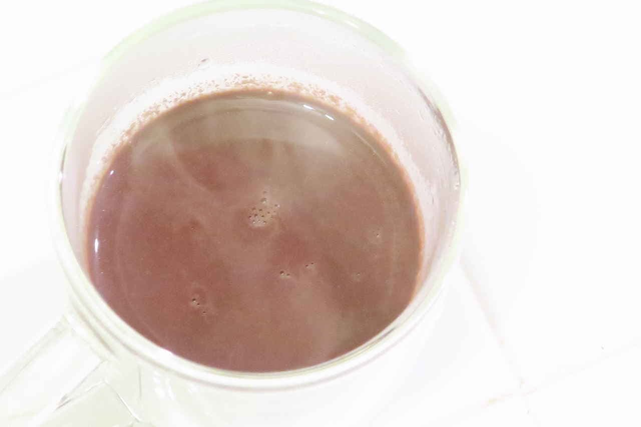牛乳なしのホットチョコレートレシピ