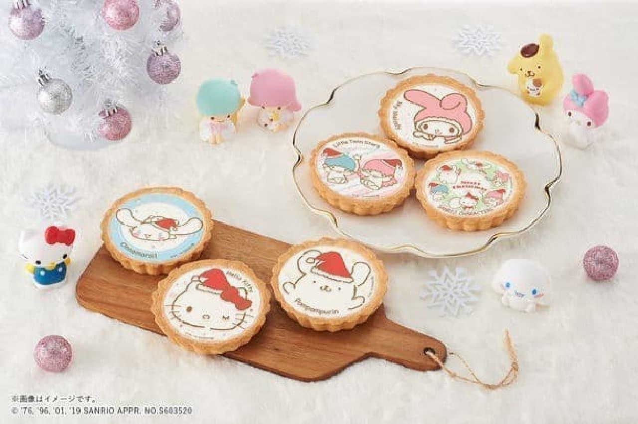 サンリオキャラクターズ クリスマスタルト