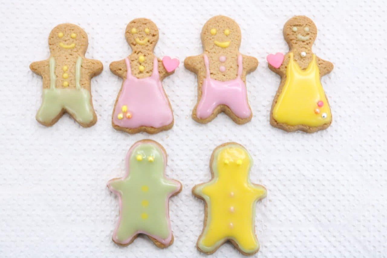 無印良品の「ジンジャーマンクッキー」