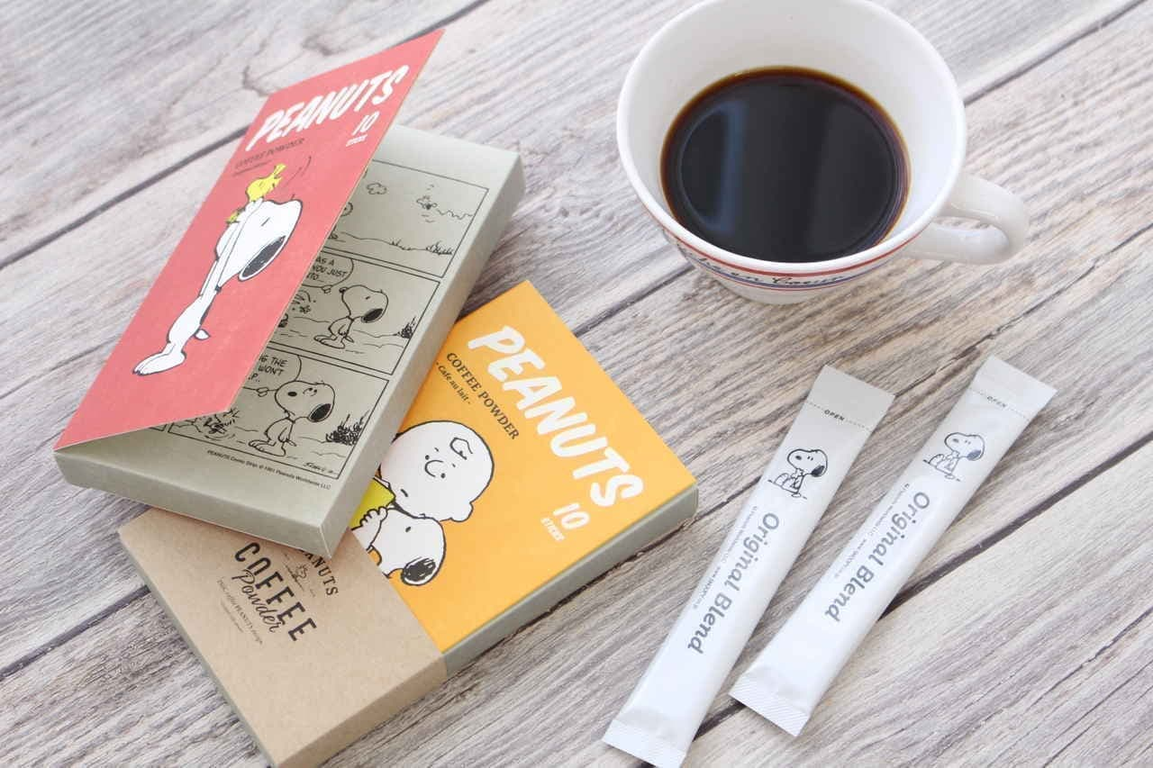 スヌーピースティックコーヒー