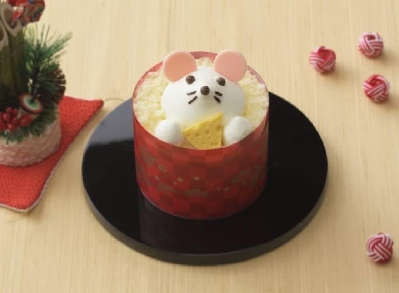 銀座コージーコーナー「干支のケーキ(子)」