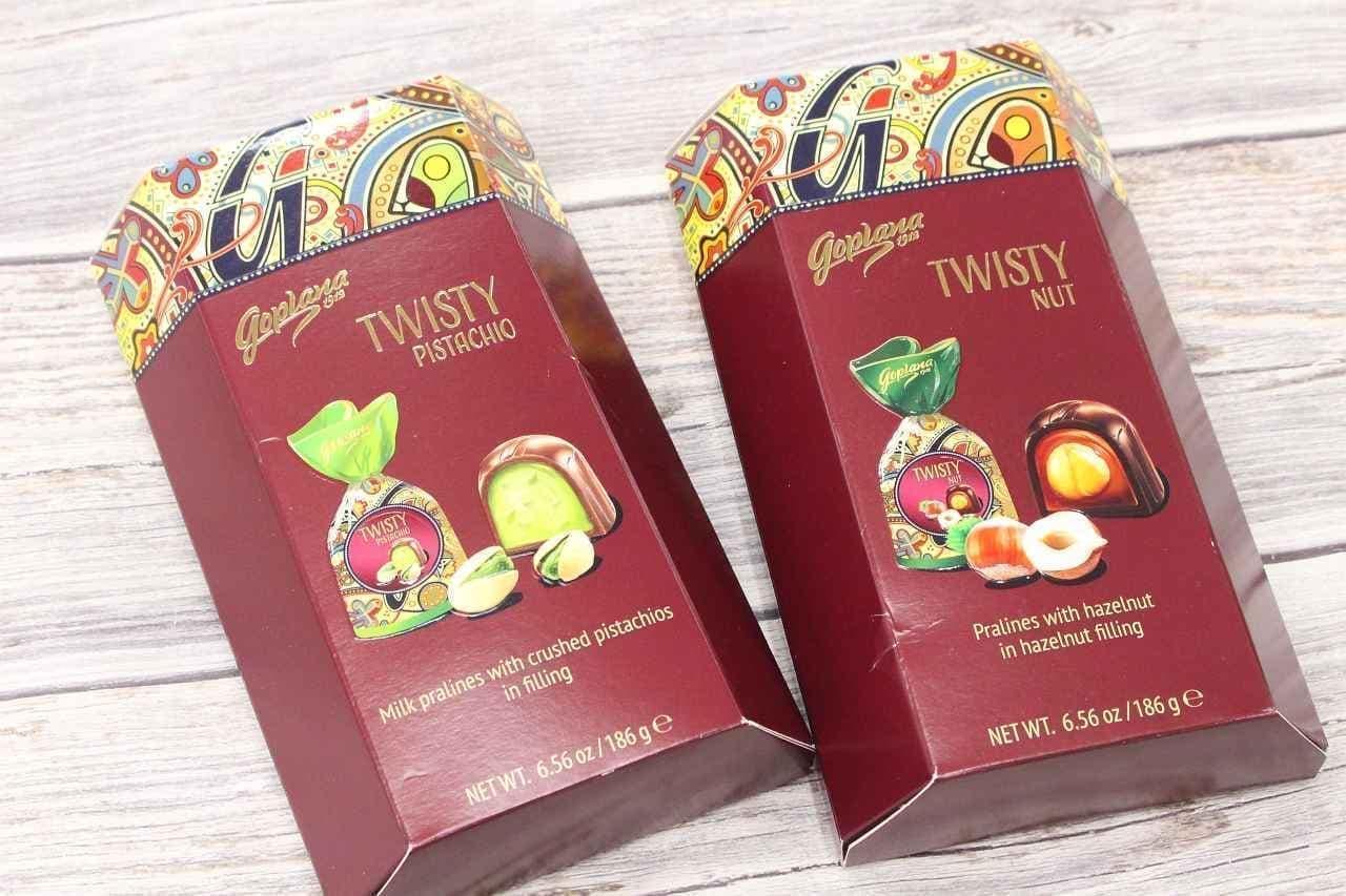 ゴプラーナのプラリネチョコレートピスタチオ&ヘーゼルナッツ