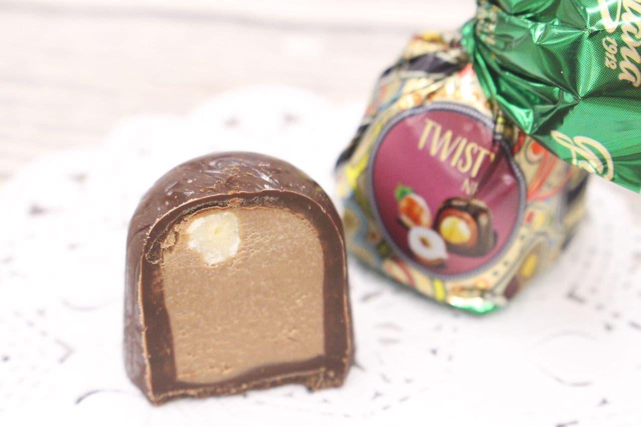 ゴプラーナのプラリネチョコレートヘーゼルナッツ