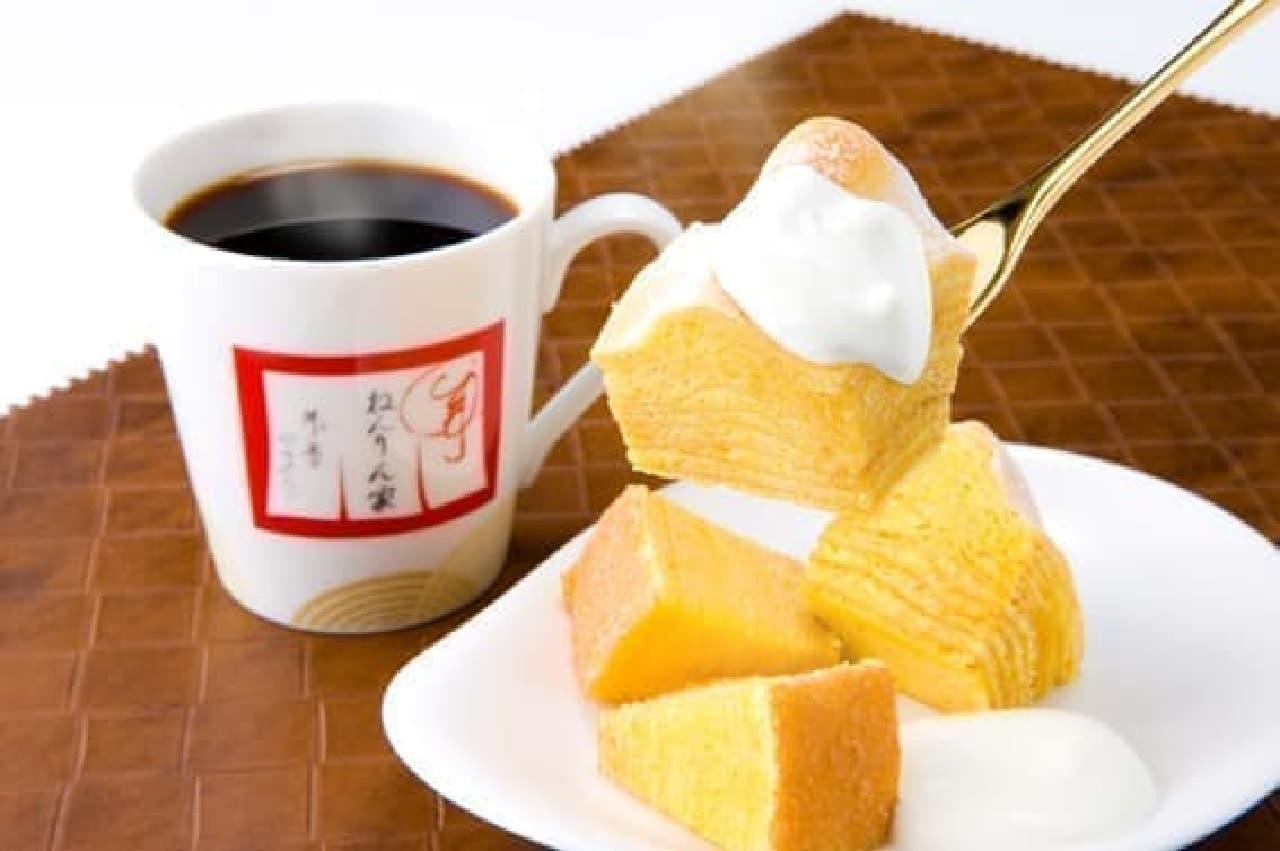 CAFEねんりん家メニュー