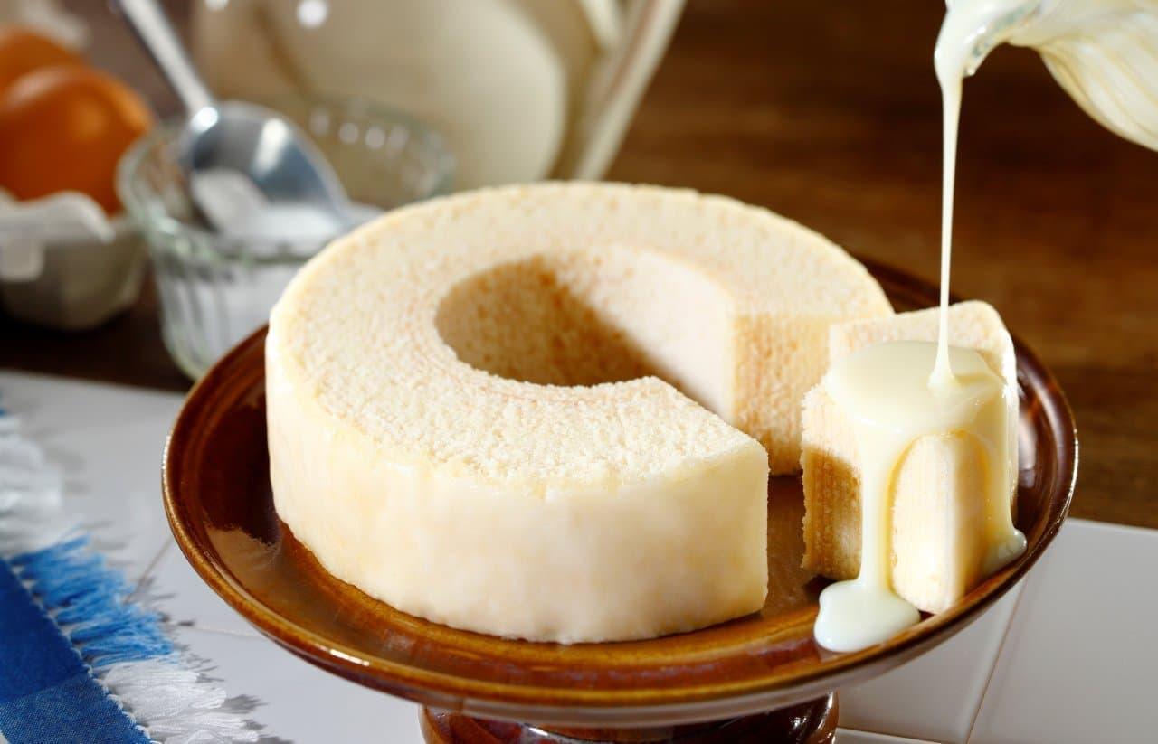 「ミルクチーズバームクーヘン」東京ミルクチーズ工場