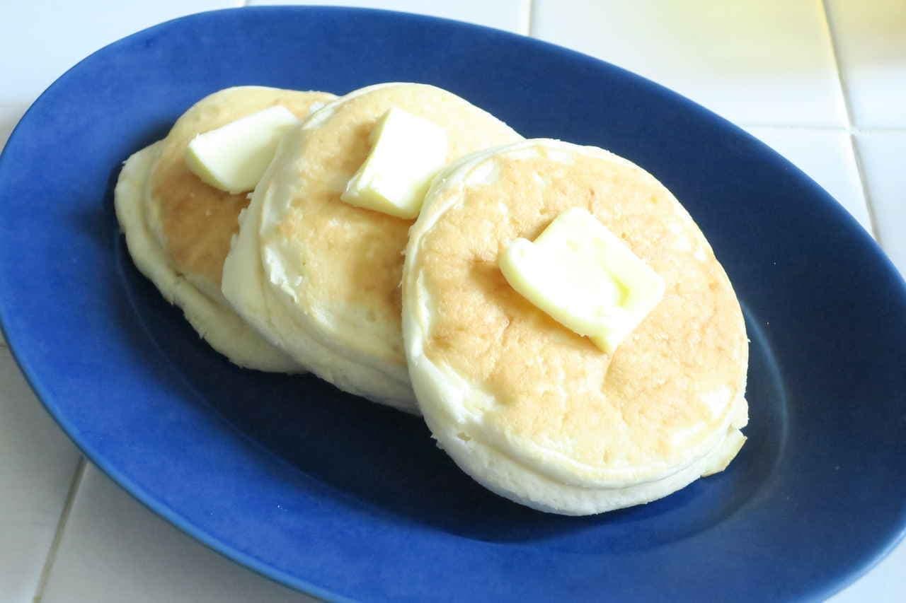 冷蔵リコッタパンケーキ