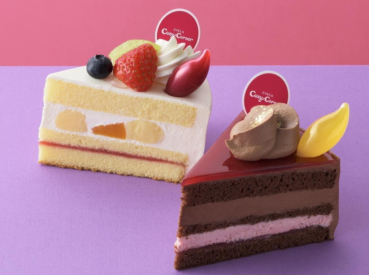 銀座コージーコーナー「ストロベリーマジック」のケーキ