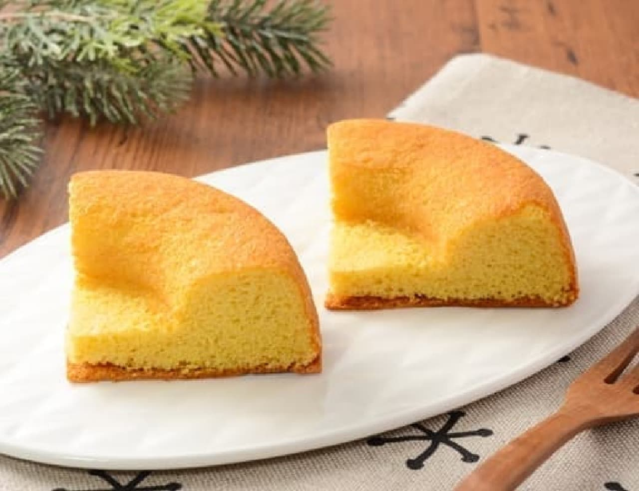 NL 大麦のシフォンケーキ バニラ