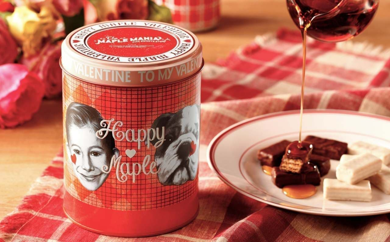 ザ・メープルマニア新商品「メープルウエハース缶」