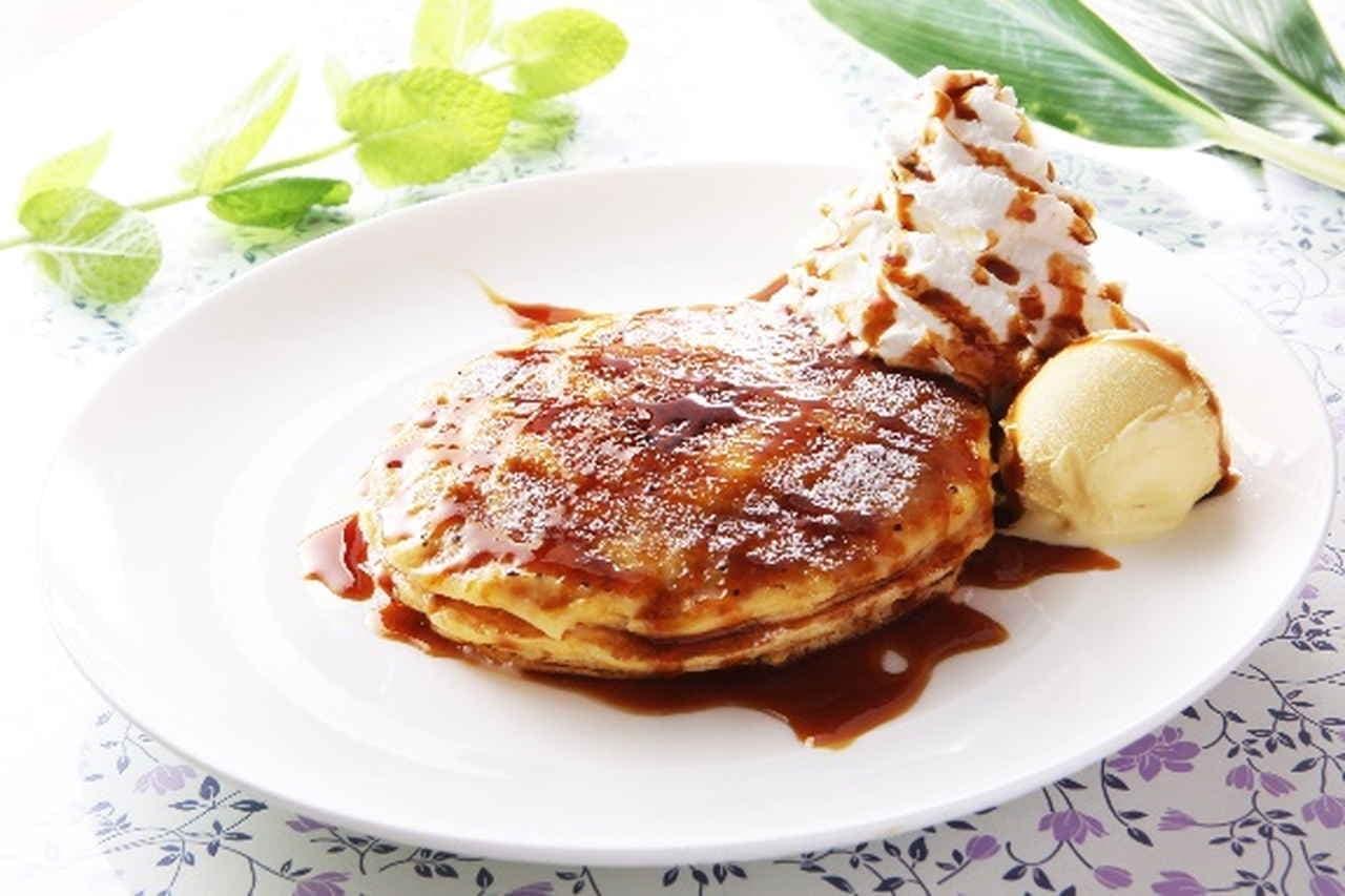 クアアイナ いちごのパンケーキブリュレ