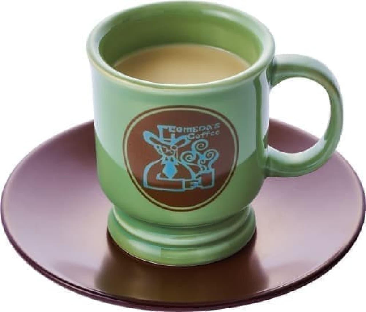 コメダ珈琲店「黒みつミルクコーヒー」