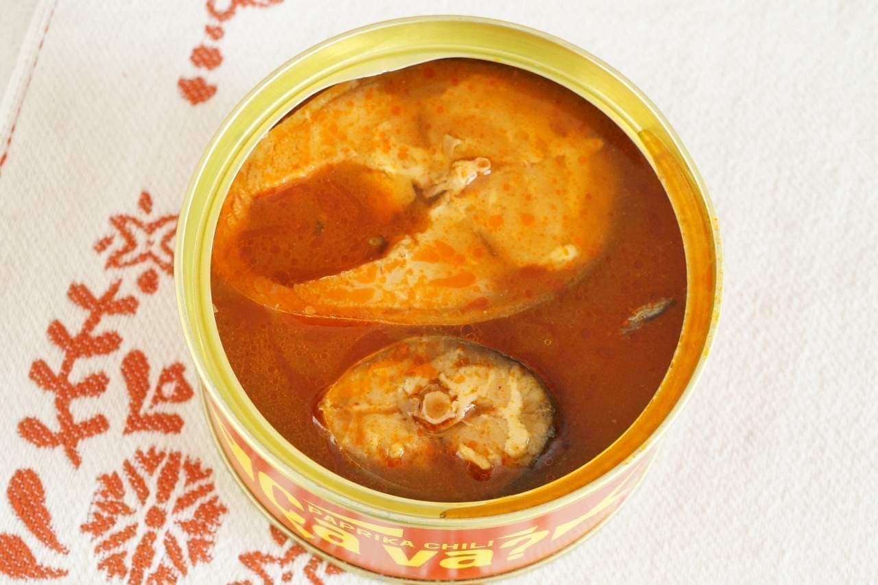 サヴァ缶パプリカチリソース味